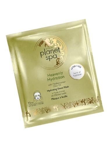 Avon Planet Spa Zeytinyağı Özlü Kağıt Maske Renksiz